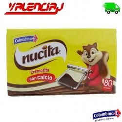 PUDDING MEZCLA DE CHOCOLATE NUCITA COLOMBINA 80 X 14 GRS
