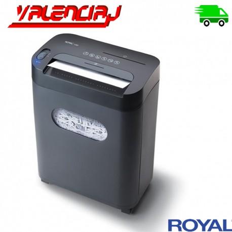 TRITURADORA DE PAPEL ELECTRICA ROYAL 112MX 12 PAGINAS CD/DVD TARJATAS 3.25 GALONES