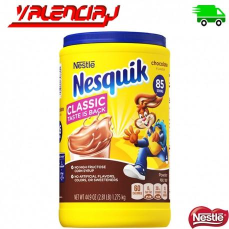 POLVO CON SABOR A CHOCOLATE NESQUICK 1.27 KILOS NESTLE