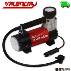 INFLADOR BONAIRE 12V 130 PSI DE LLANTAS CON LUZ LED COMPRESOR