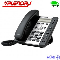 TELEFONO IP XUE S3, 3-Sip, Lcd 132X52, 2 Lan 10/100 Poe