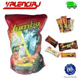 CHOCOLATES JUMBO MINIS SURTIDOS POR 18GR X 32 UNIDADES