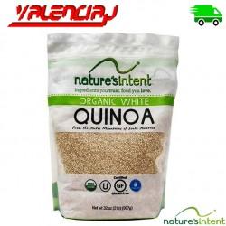 QUINOA ORGANICA BLANCA NATURES INTENT 907 GRAMOS