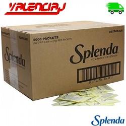 ENDULZANTE SPLENDA SIN CALORIAS 2000 SOBRES X 1 G