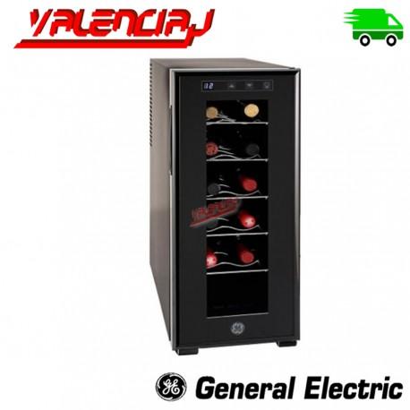 CAVA DE VINOS 12 BOTELLAS GENERAL ELECTRIC GW12XDBB REGULADOR ELECTRONICO