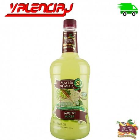MASTER OF MIXED MOJITO MIX 1.75 L BEBIDA CON ALCOHOL PARA COCTELES