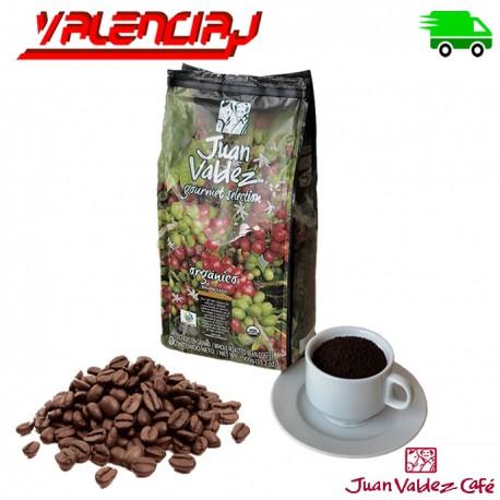 CAFE ORGANICO JUAN VALDEZ BALANCEADO TOSTADO Y MOLIDO 1 KILO