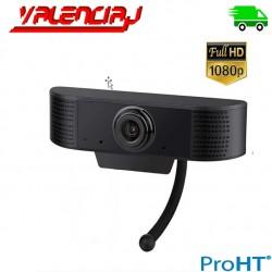 WEBCAM PROHT FULL HD 1080P CON MIC USB