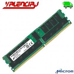 MEMORIA RAM SERVIDOR 32GB DDR4 PC4-25600 3200MHZ CL22 ECC/REG 1.2V MICRON MTA18ASF4G72PDZ-3G2E1 LEN SR