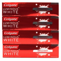 CREMA DENTAL COLGATE LUMINOUS WHITE BRILLIANT 125 GRS x 4 UND