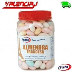 ALMENDRAS FRANCESAS ITALO ACARAMELADAS 1 KILO EN BOMBONERA
