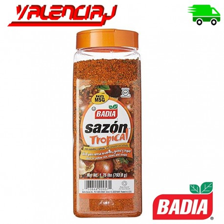 BADIA SAZONADOR TROPICAL AMARILLO 793,8 GRS