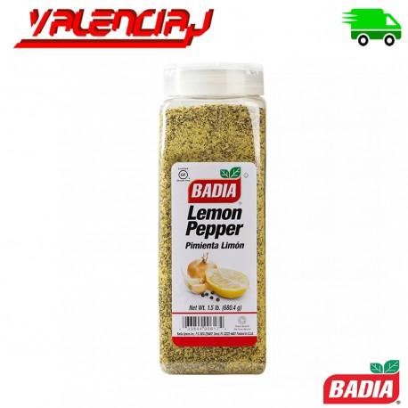 BADIA SAZONADOR PIMIENTA LIMON 680,4 GRS