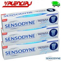 CREMA DENTAL SENSODYNE REPARA Y PROTEGE 100G X 4 UND