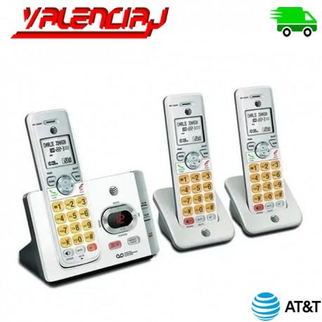 TELEFONOS INALAMBRICOS AT&t EL52345 3 UNIDADES CON CONTESTADOR