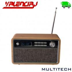PARLANTE BLUETOOTH MULTITECH MT-BTS2908 RECARGABLE RADIO FM LECTOR MEMORIAS