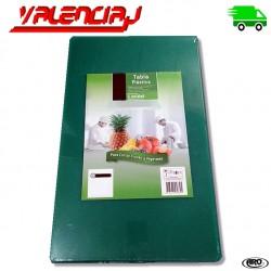 TABLA PARA CORTAR AVES 50 x 30 x 1.4 CMS VERDE EN CO-POLIMERO