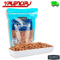 ALMENDRAS ENTERAS CON SAL MEMBERS SELECTION 907 GRAMOS