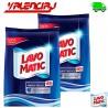DETERGENTE EN POLVO LAVO MATIC AROMA FLORAL 4.5 KILOS x 2 UND