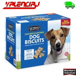GALLETAS PARA PERRO MEMBERS SELECTION 10 LIBRAS 4.5 KILOS SABOR A POLLO