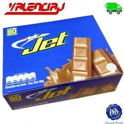 CHOCOLATINAS JET - 80 X 12 GRS - MEGA PACK 960 GRAMOS