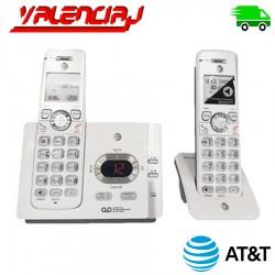 TELEFONOS INALAMBRICOS AT&t EL52245 2 UNIDADES CON CONTESTADOR