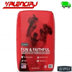 ALIMENTO PARA PEROS CONCENTRADO MEMBERS FUN & FAITHFUL 18.1 KILOS