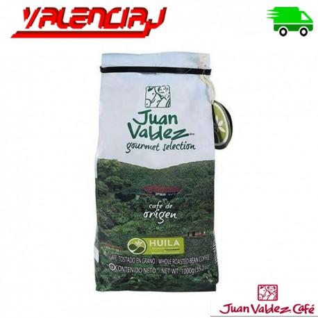 CAFE ORGANICO JUAN VALDEZ TOSTADO EN PEPA ORIGEN HUILA 1 KILO