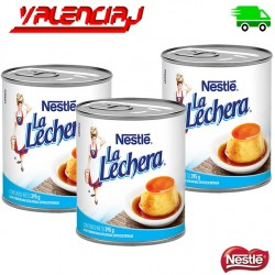 LECHE CONDENSADA LA LECHERA 397GRS X 3 LATAS
