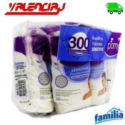 RUEDITAS FACIALES SENSITIVE FAMILIA X 300 UNIDADES